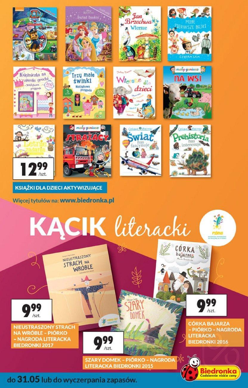 Gazetka promocyjna Biedronka do 31/05/2018 str.30