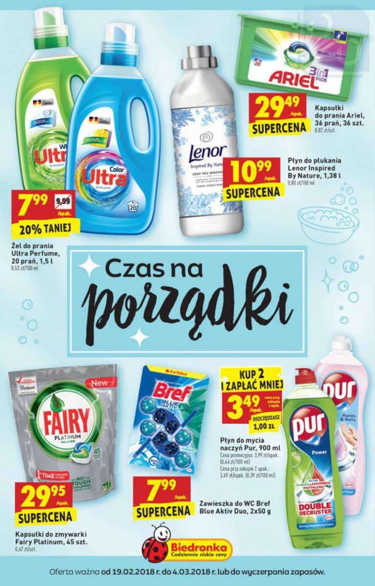 Gazetka promocyjna Biedronka do 04/03/2018 str.0