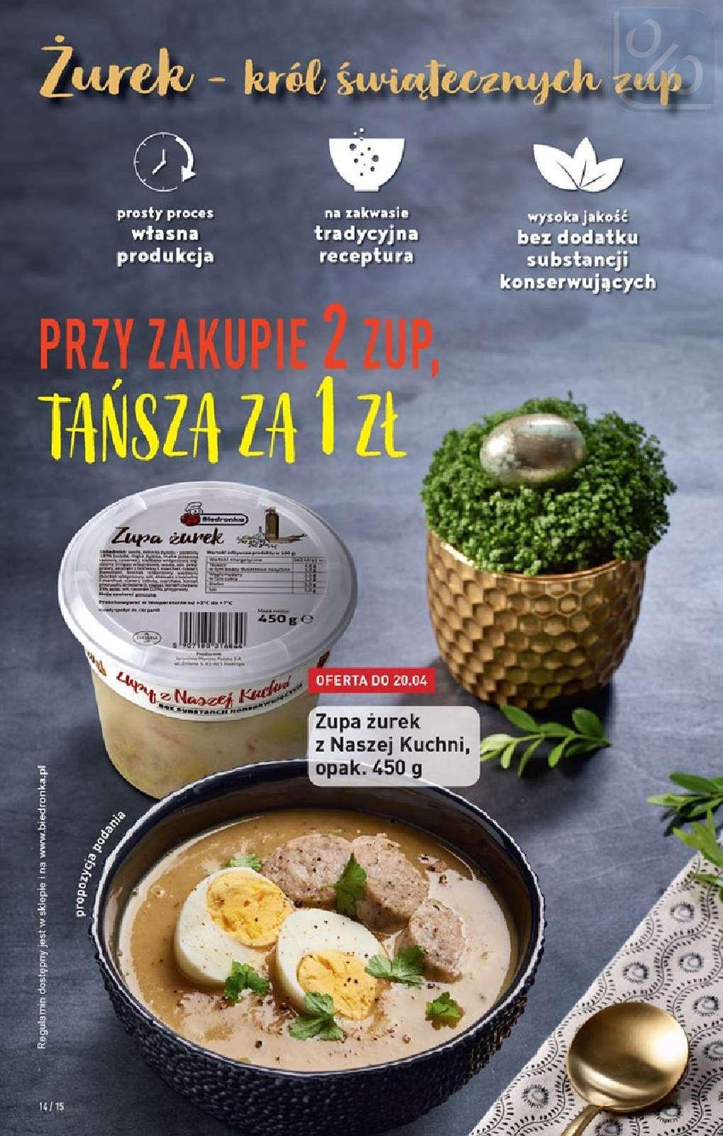 Gazetka promocyjna Biedronka do 24/04/2019 str.13
