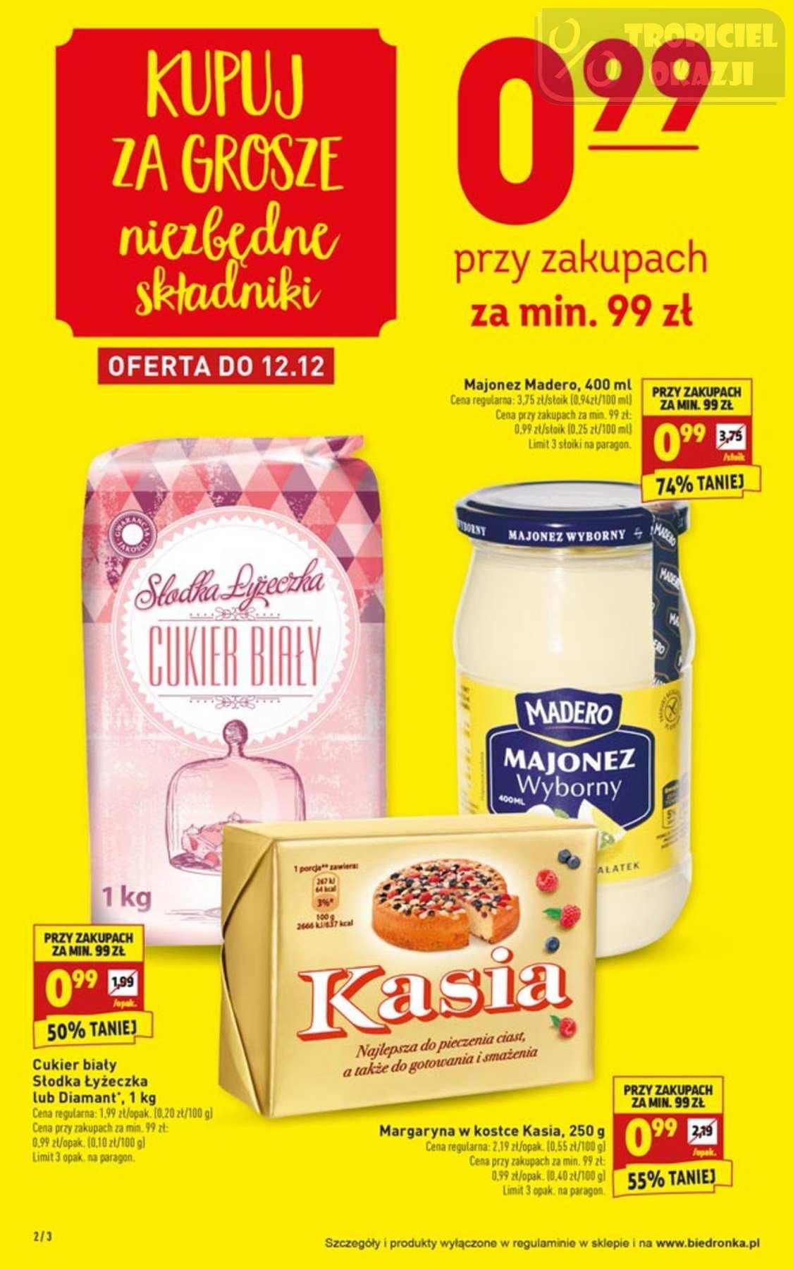 Gazetka promocyjna Biedronka do 16/12/2018 str.2