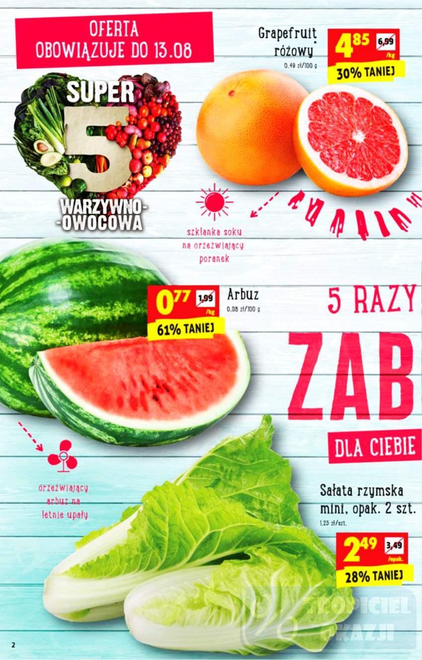 Gazetka promocyjna Biedronka do 16/08/2017 str.1