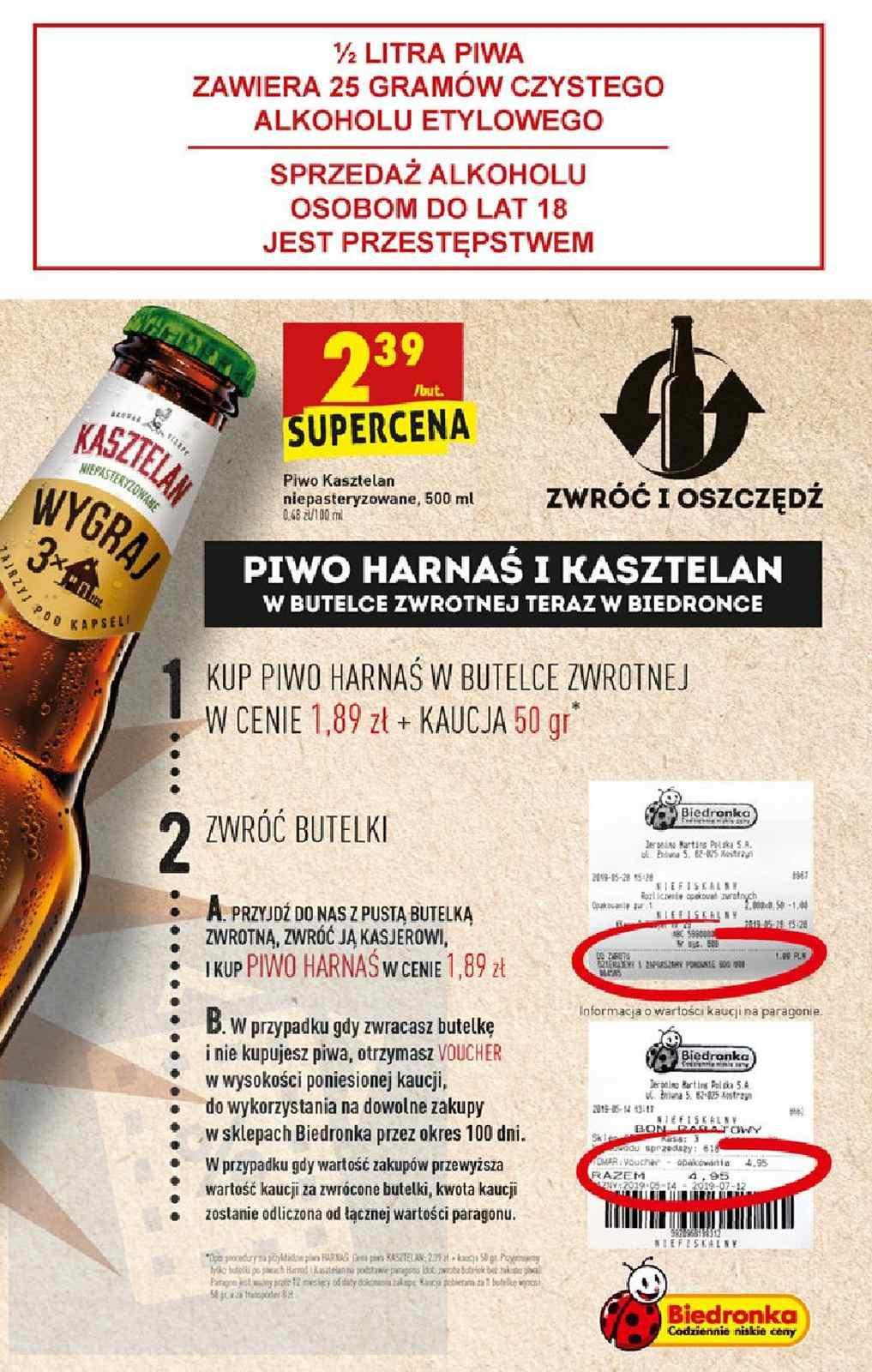 Gazetka promocyjna Biedronka do 21/08/2019 str.57