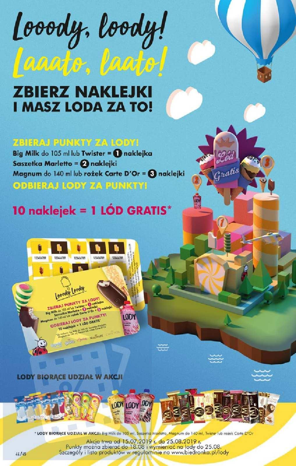 Gazetka promocyjna Biedronka do 17/08/2019 str.43