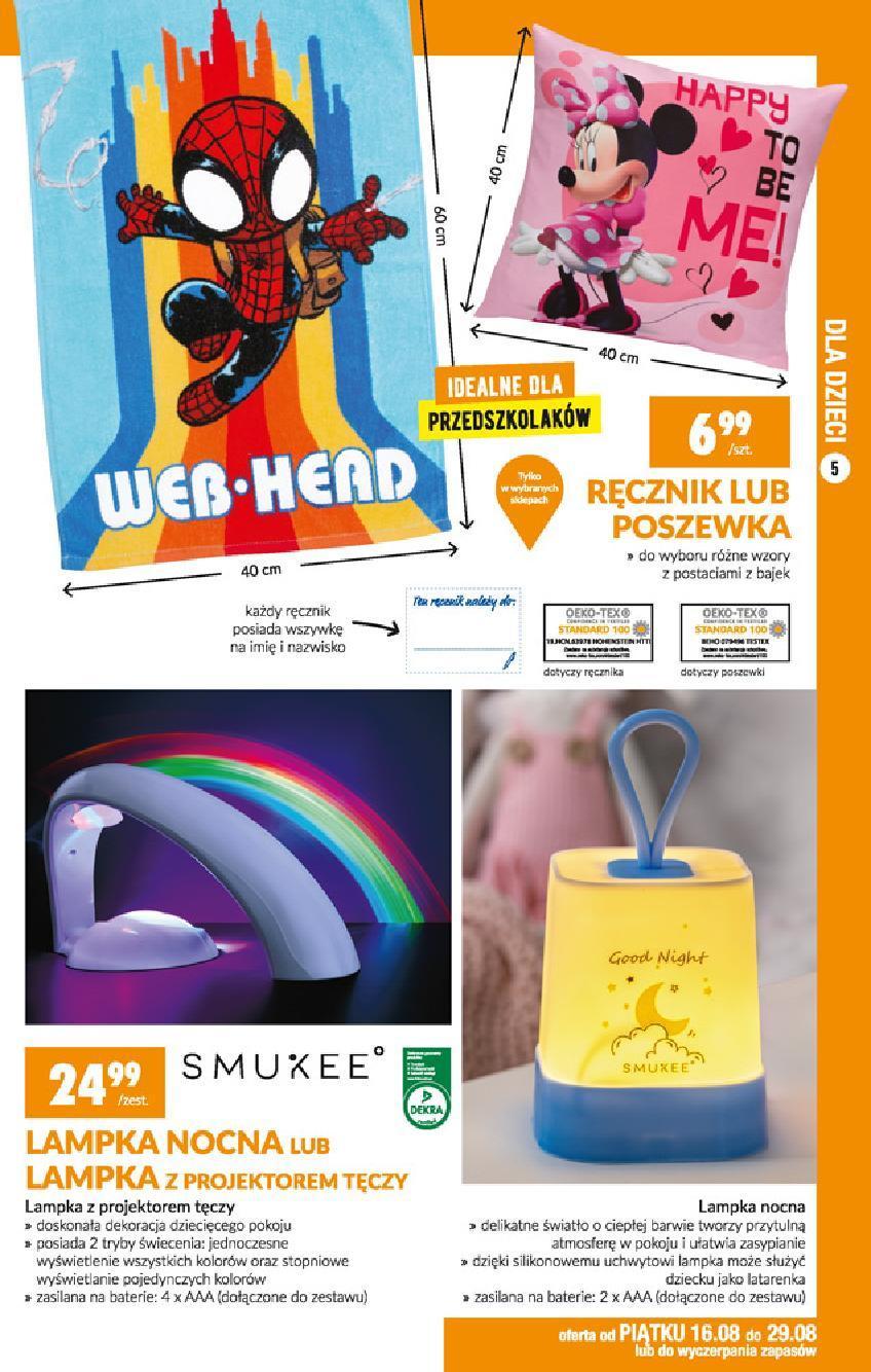 Gazetka promocyjna Biedronka do 25/08/2019 str.5