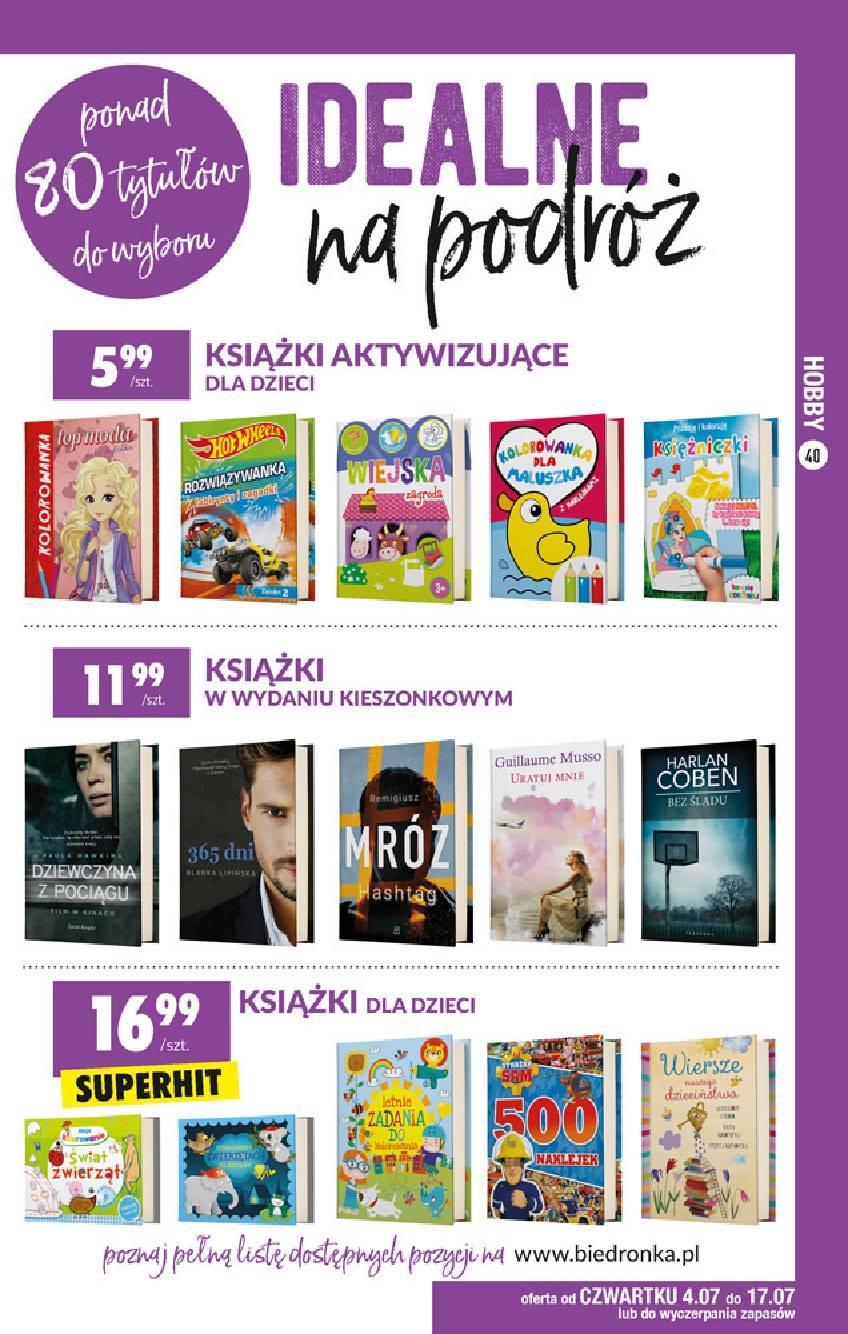 Gazetka promocyjna Biedronka do 17/07/2019 str.39