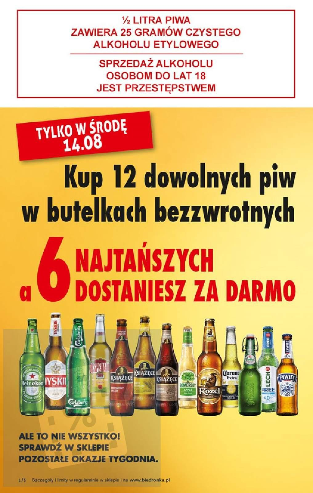 Gazetka promocyjna Biedronka do 17/08/2019 str.4