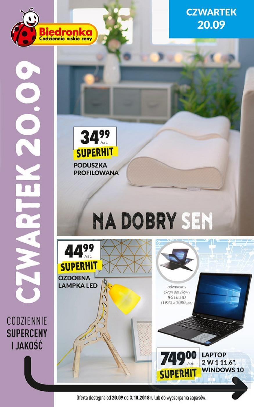 Gazetka promocyjna Biedronka do 30/09/2018 str.11