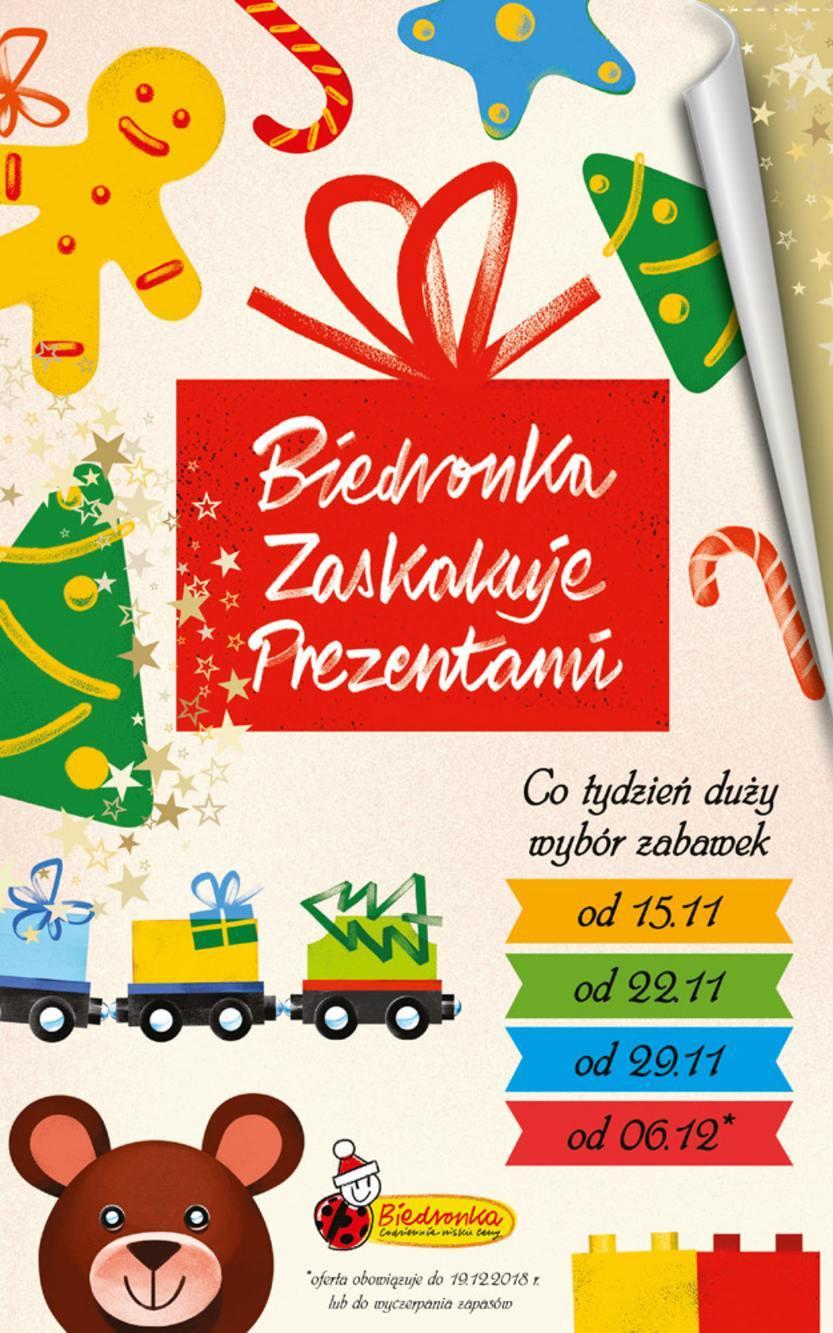 Gazetka promocyjna Biedronka do 19/12/2018 str.1