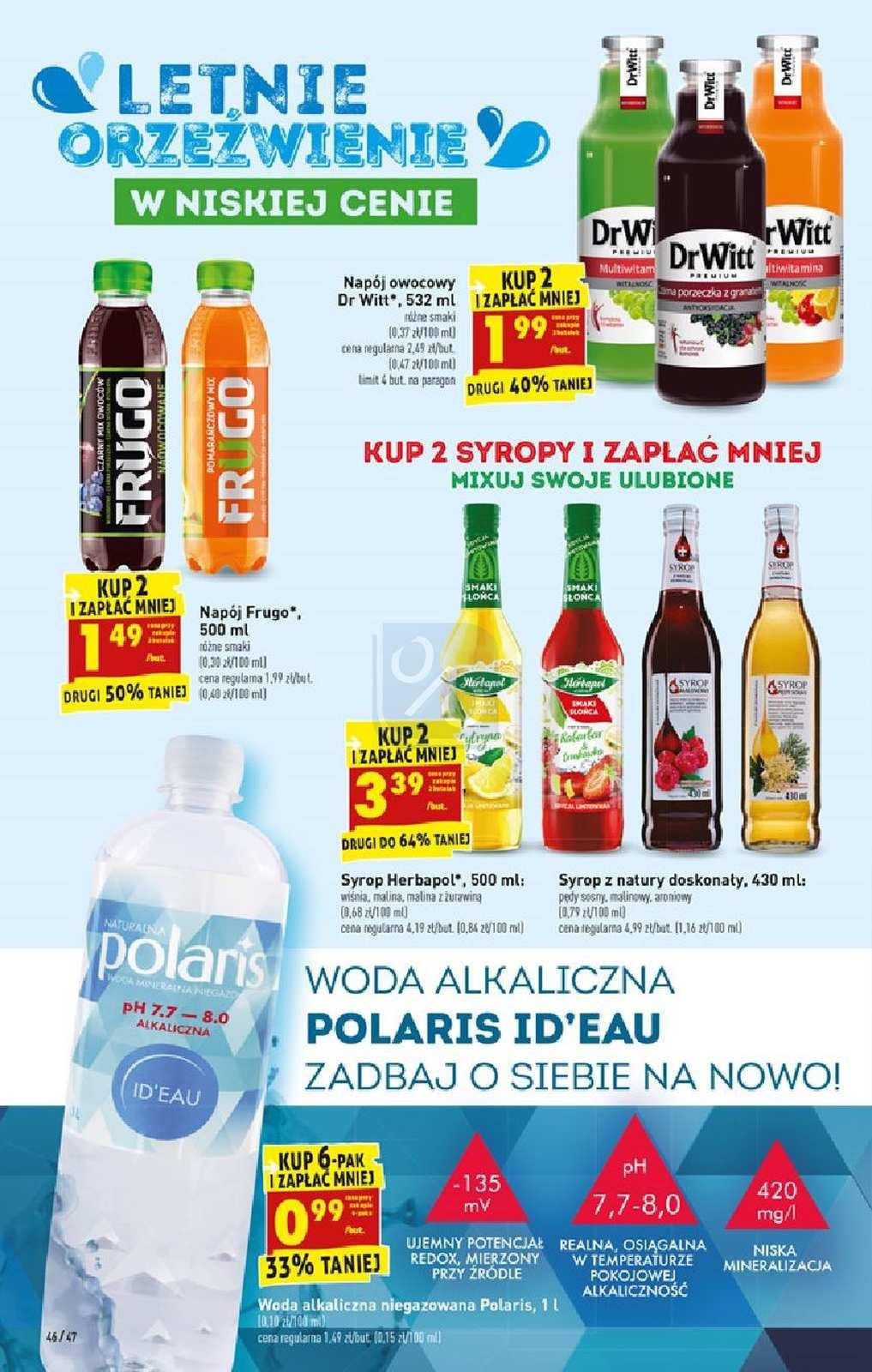 Gazetka promocyjna Biedronka do 28/07/2019 str.46