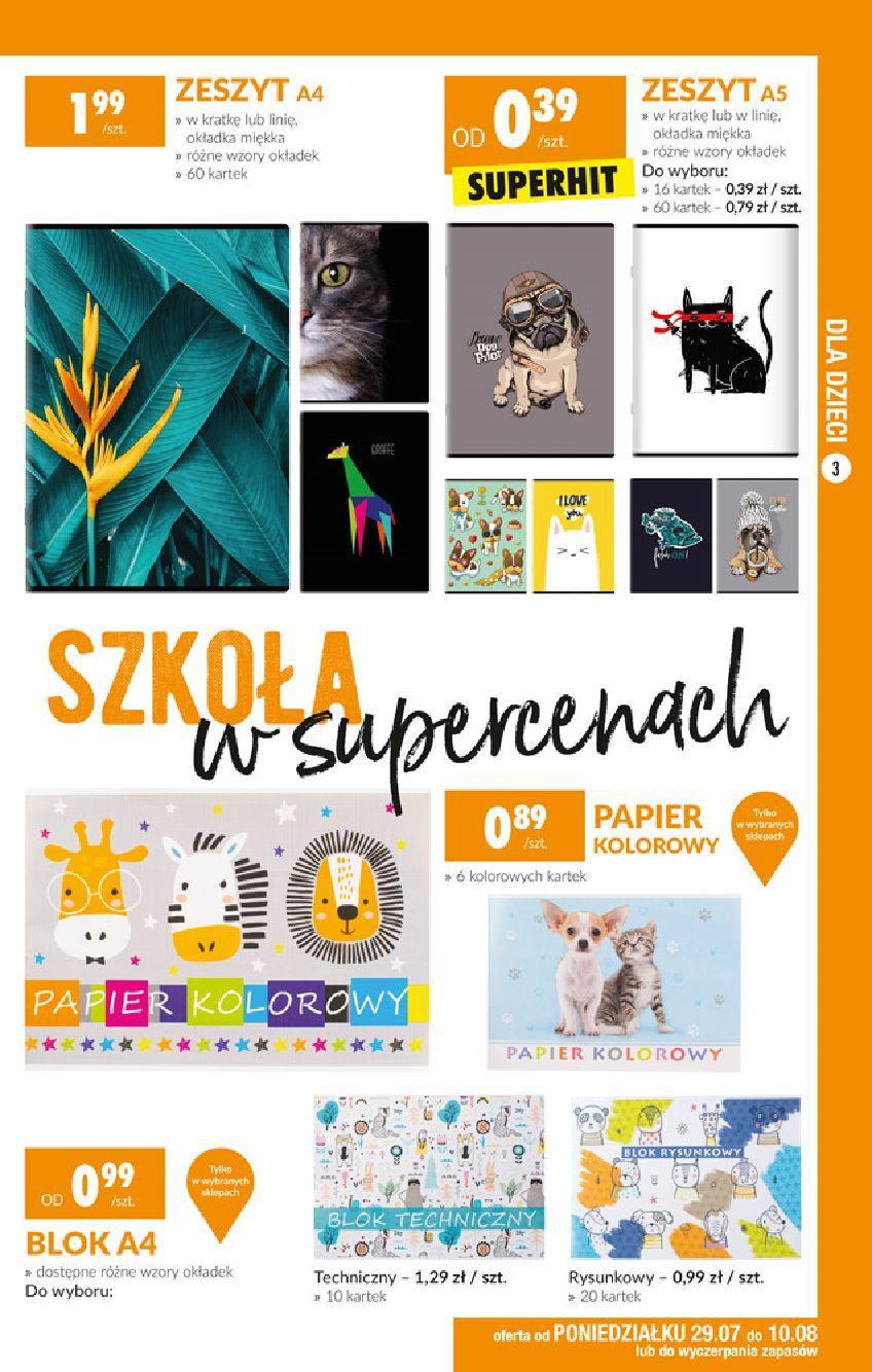Gazetka promocyjna Biedronka do 14/08/2019 str.3