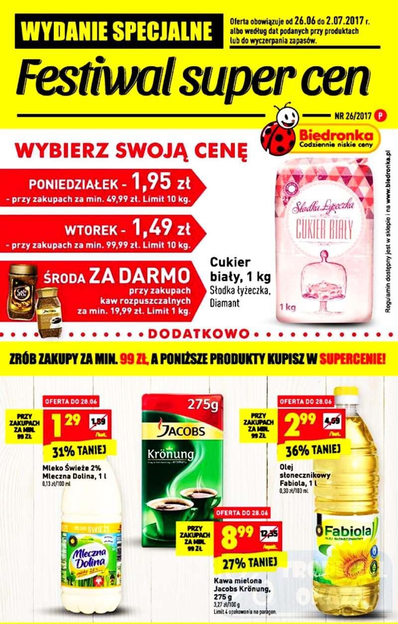 Gazetka promocyjna Biedronka do 02/07/2017 str.0