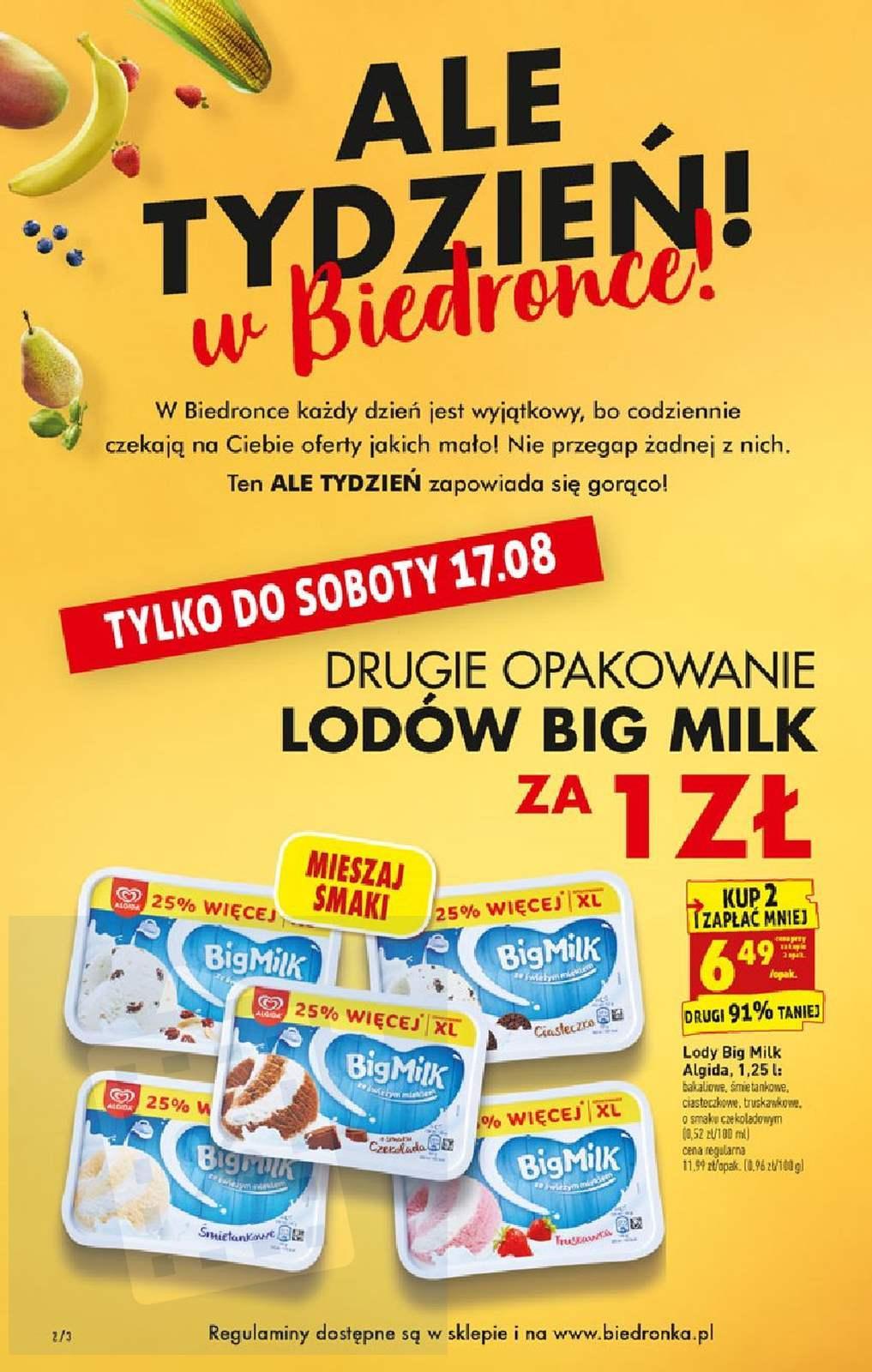 Gazetka promocyjna Biedronka do 21/08/2019 str.2