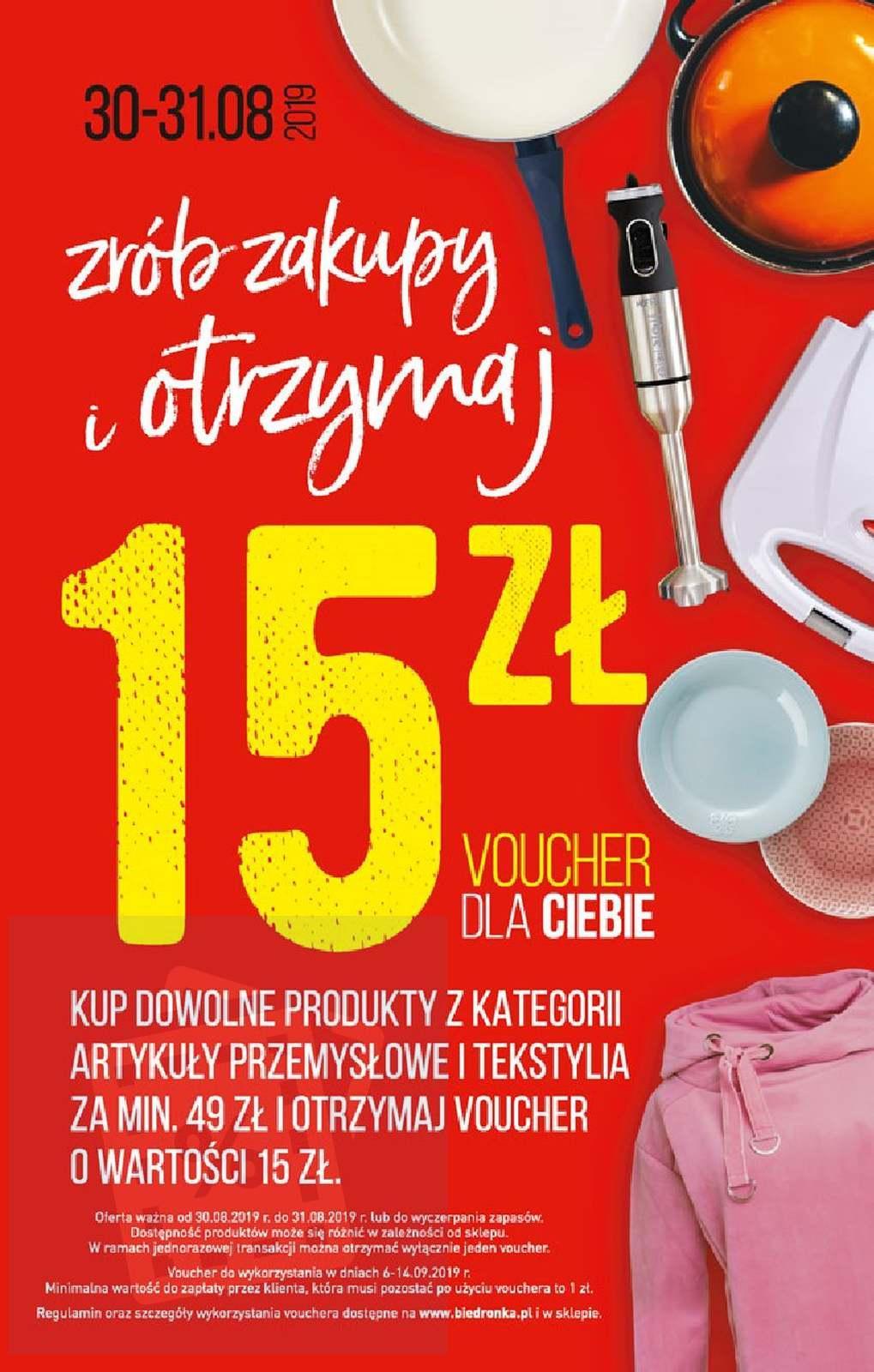 Gazetka promocyjna Biedronka do 04/09/2019 str.66