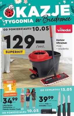 Biedronka gazetka - od 10/05/2021 do 26/05/2021
