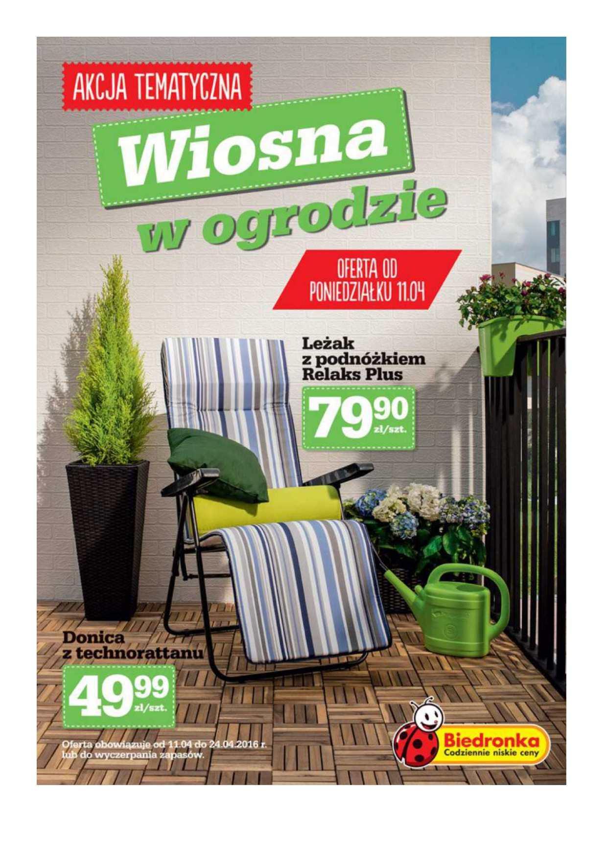 Gazetka promocyjna Biedronka do 24/04/2016 str.0