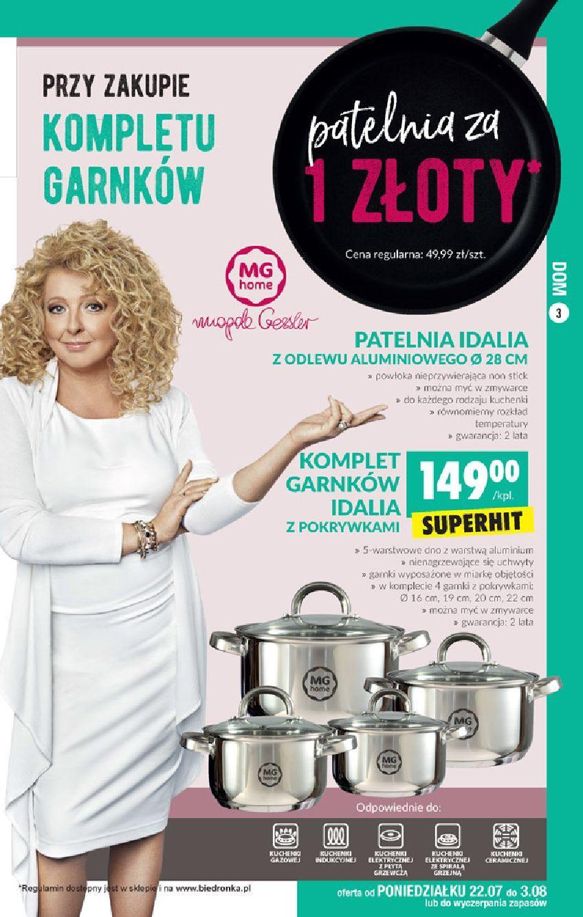 Gazetka promocyjna Biedronka do 07/08/2019 str.2