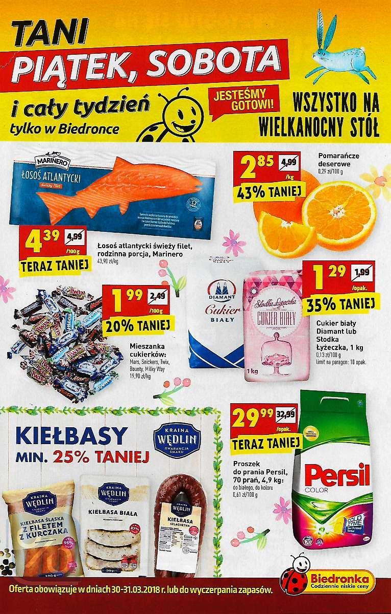 Gazetka promocyjna Biedronka do 31/03/2018 str.0