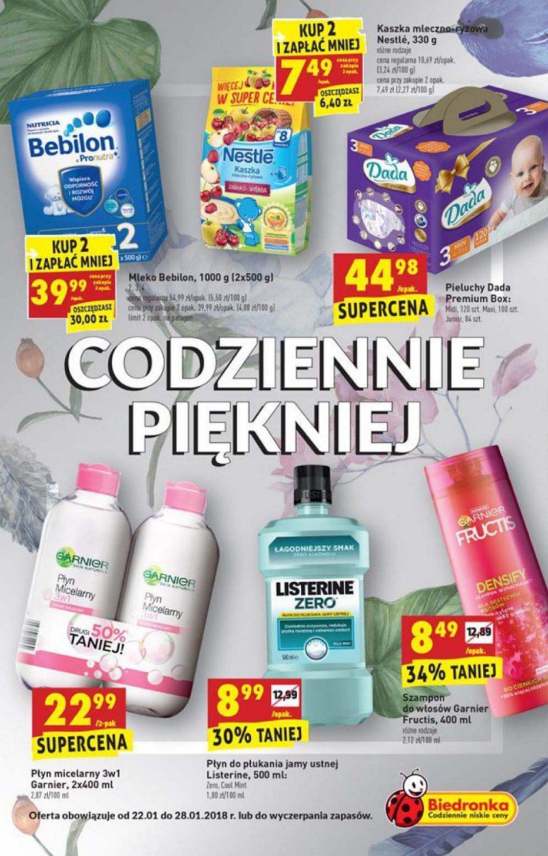 Gazetka promocyjna Biedronka do 28/01/2018 str.0