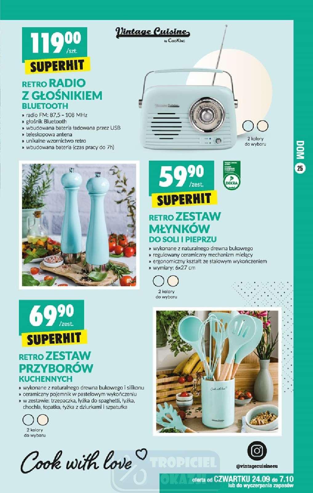 Gazetka promocyjna Biedronka do 03/10/2020 str.25