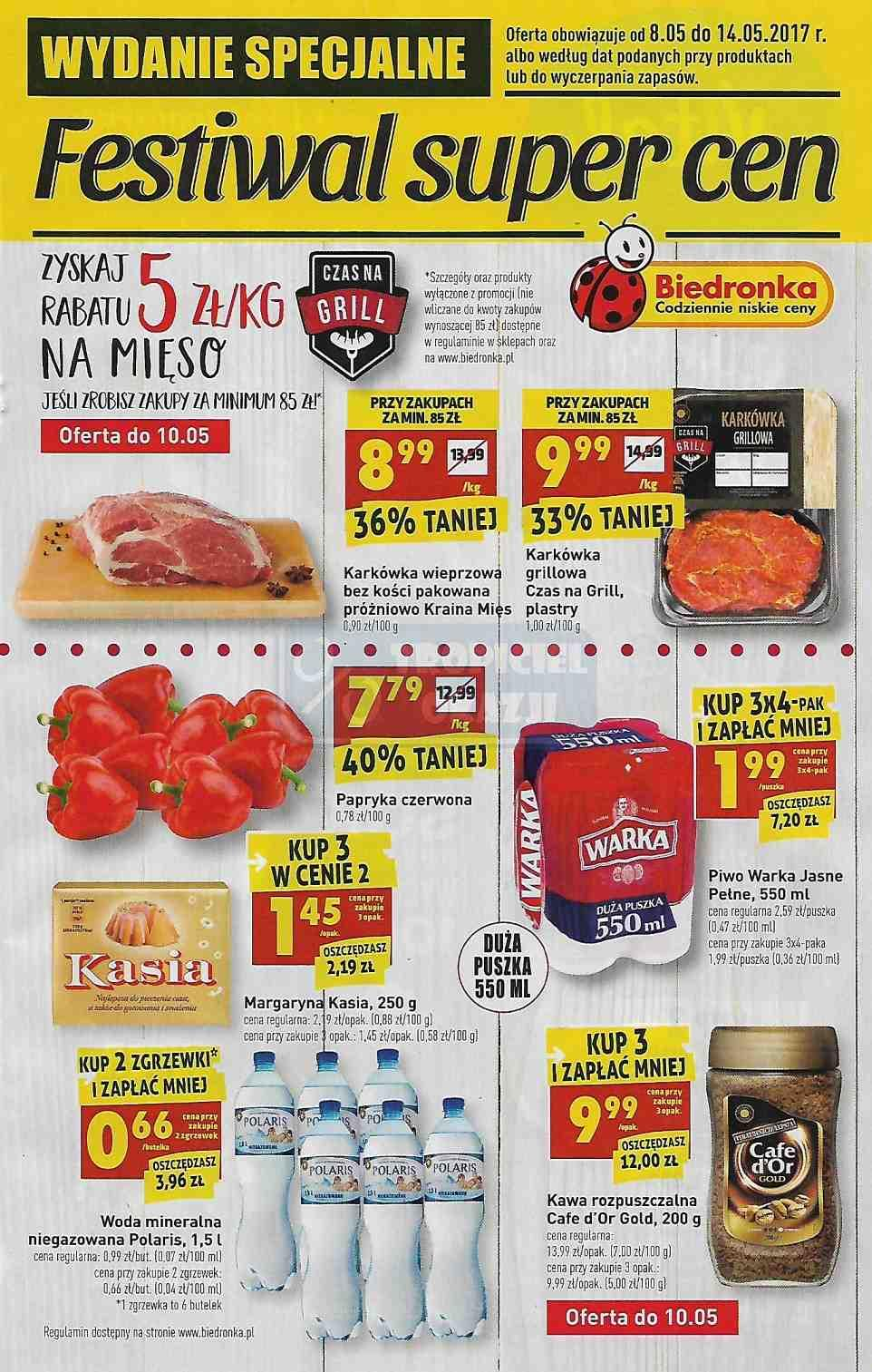 Gazetka promocyjna Biedronka do 14/05/2017 str.0