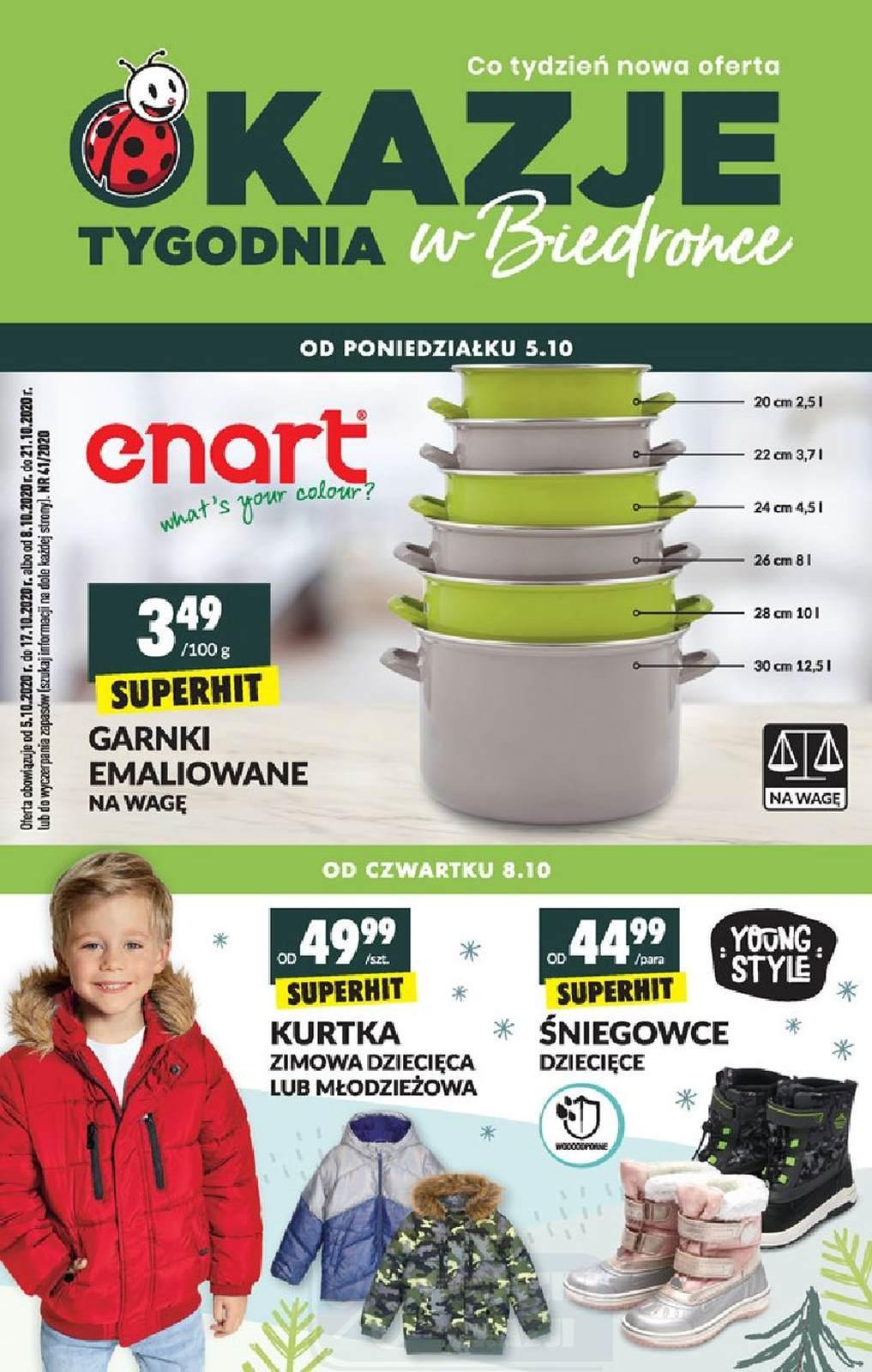 Gazetka promocyjna Biedronka do 21/10/2020 str.1