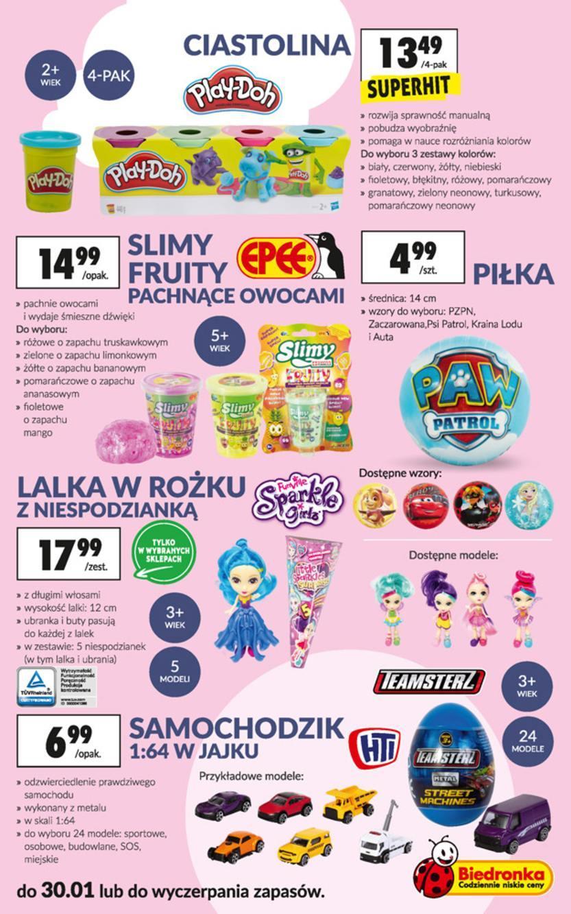 Gazetka promocyjna Biedronka do 30/01/2019 str.23