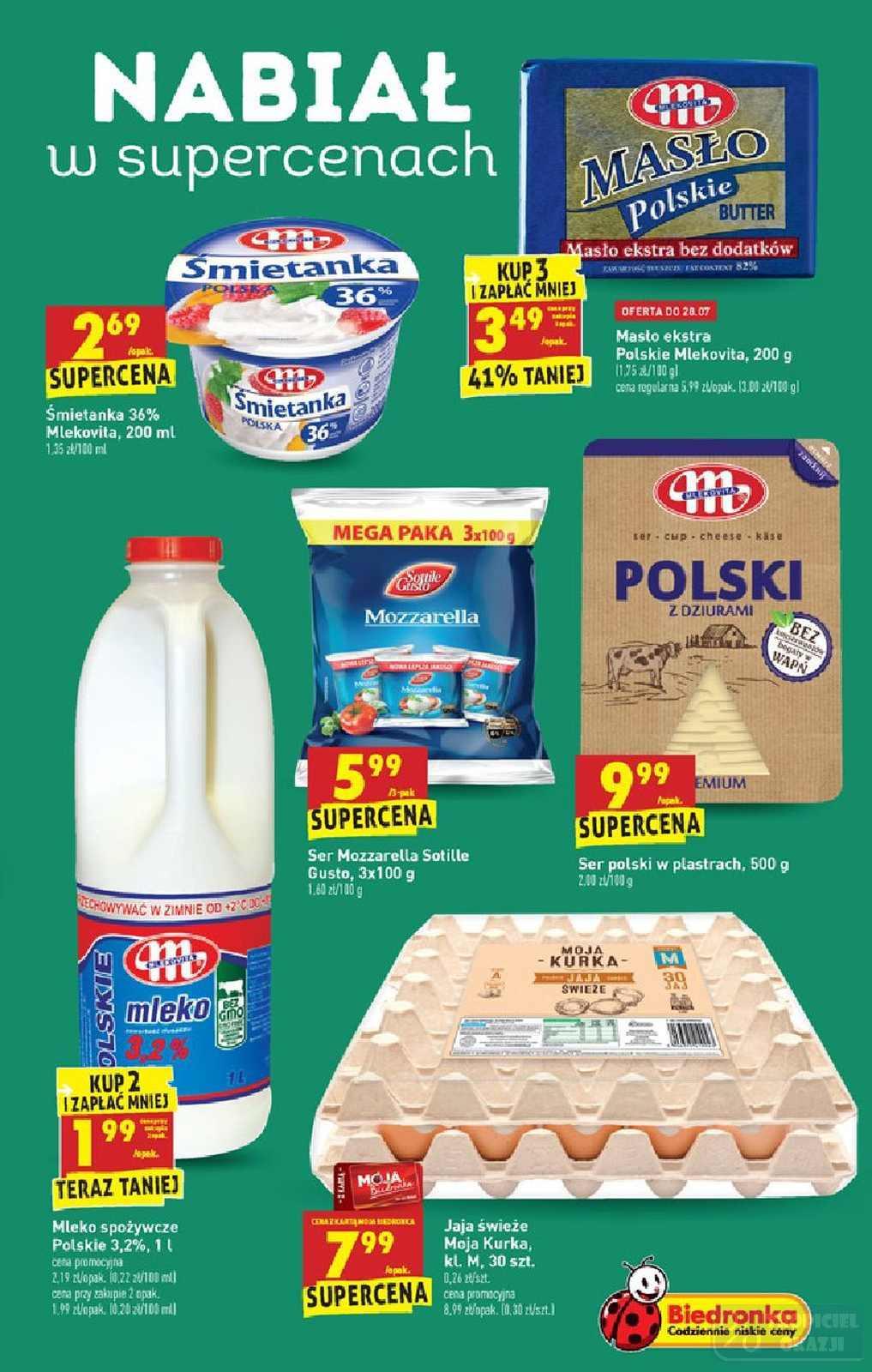 Gazetka promocyjna Biedronka do 31/07/2019 str.38