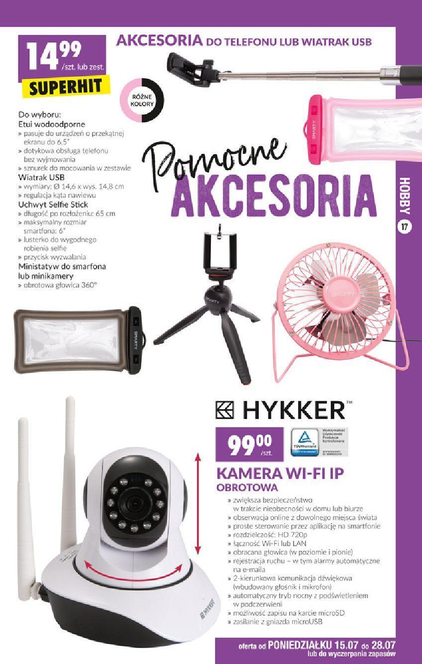 Gazetka promocyjna Biedronka do 31/07/2019 str.16