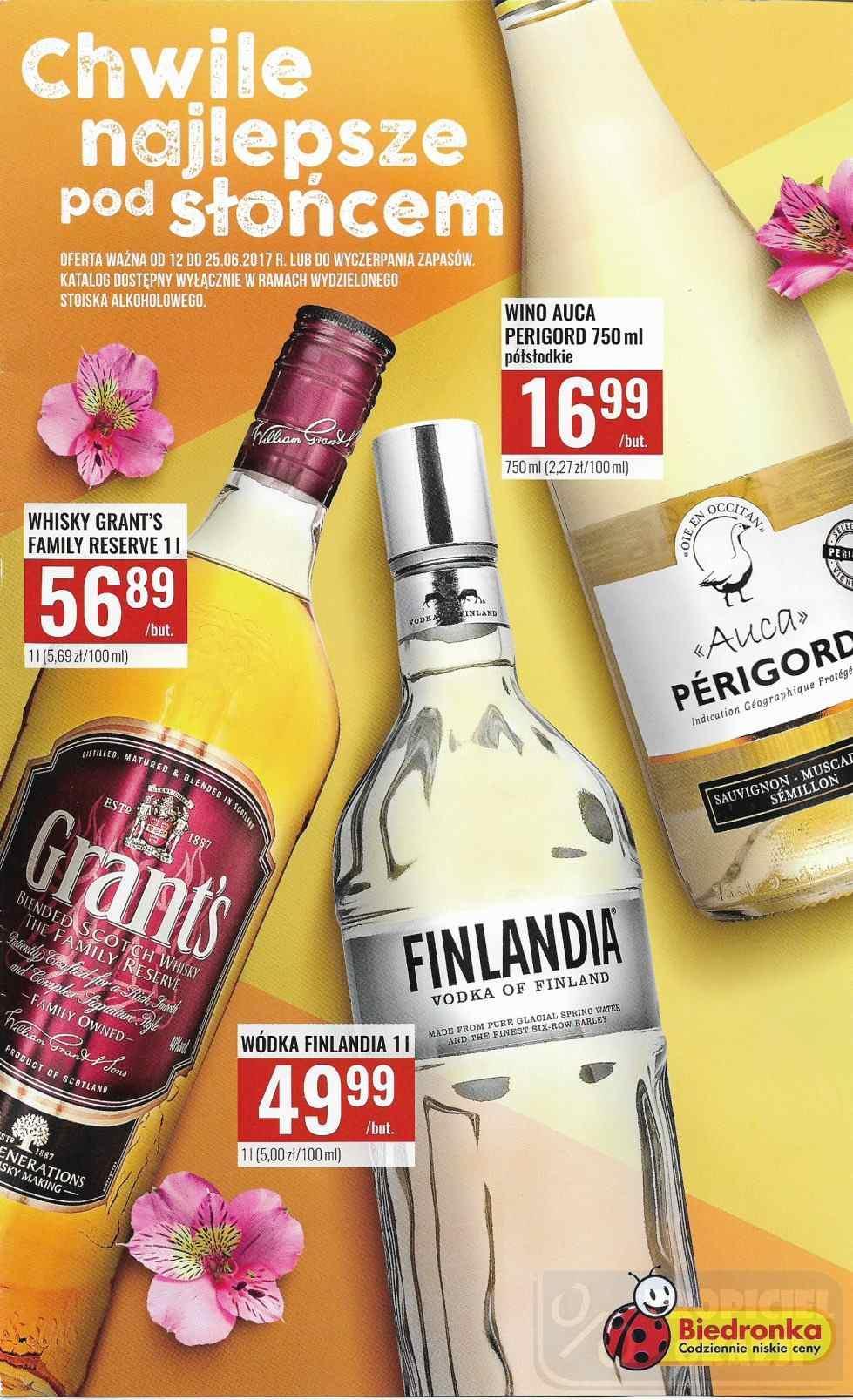 Gazetka promocyjna Biedronka do 25/06/2017 str.0
