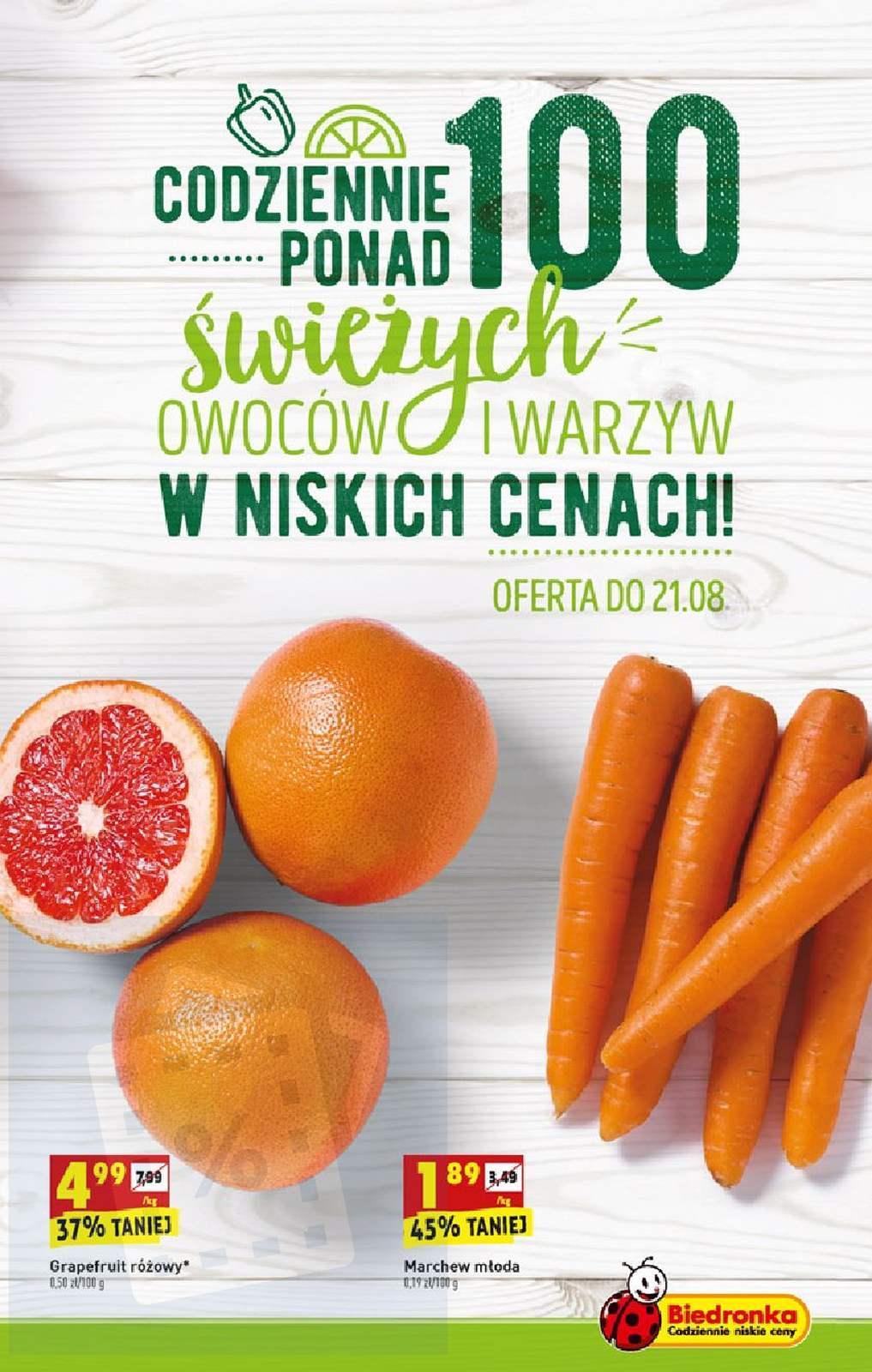 Gazetka promocyjna Biedronka do 25/08/2019 str.6