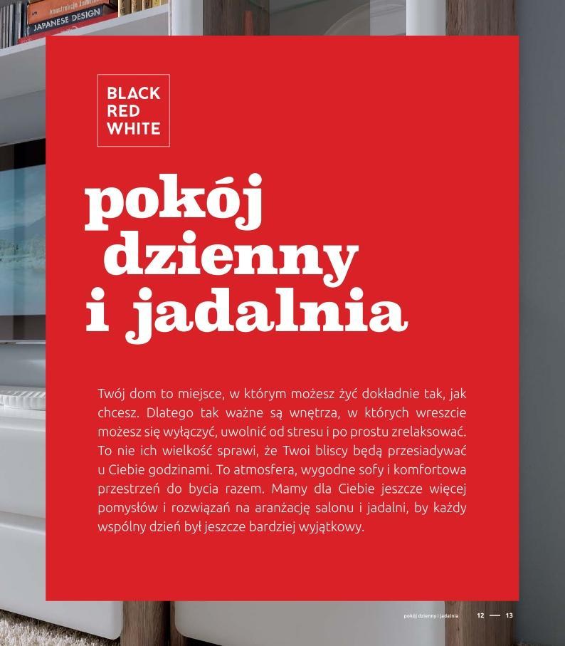 Gazetka Promocyjna I Reklamowa Black Red White Katalog