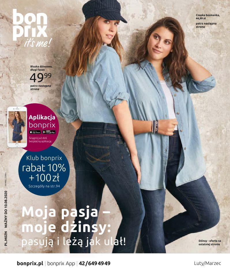 Gazetka promocyjna bonprix do 10/08/2020 str.1