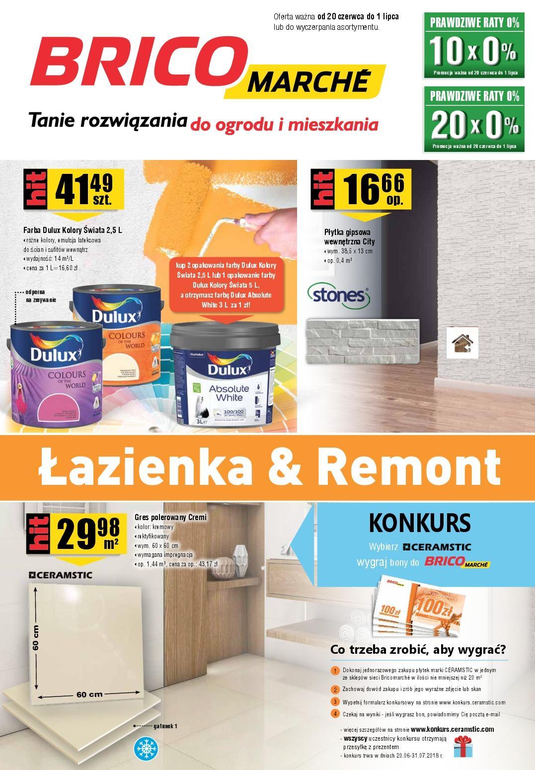 Gazetka promocyjna Bricomarche do 01/07/2018 str.0