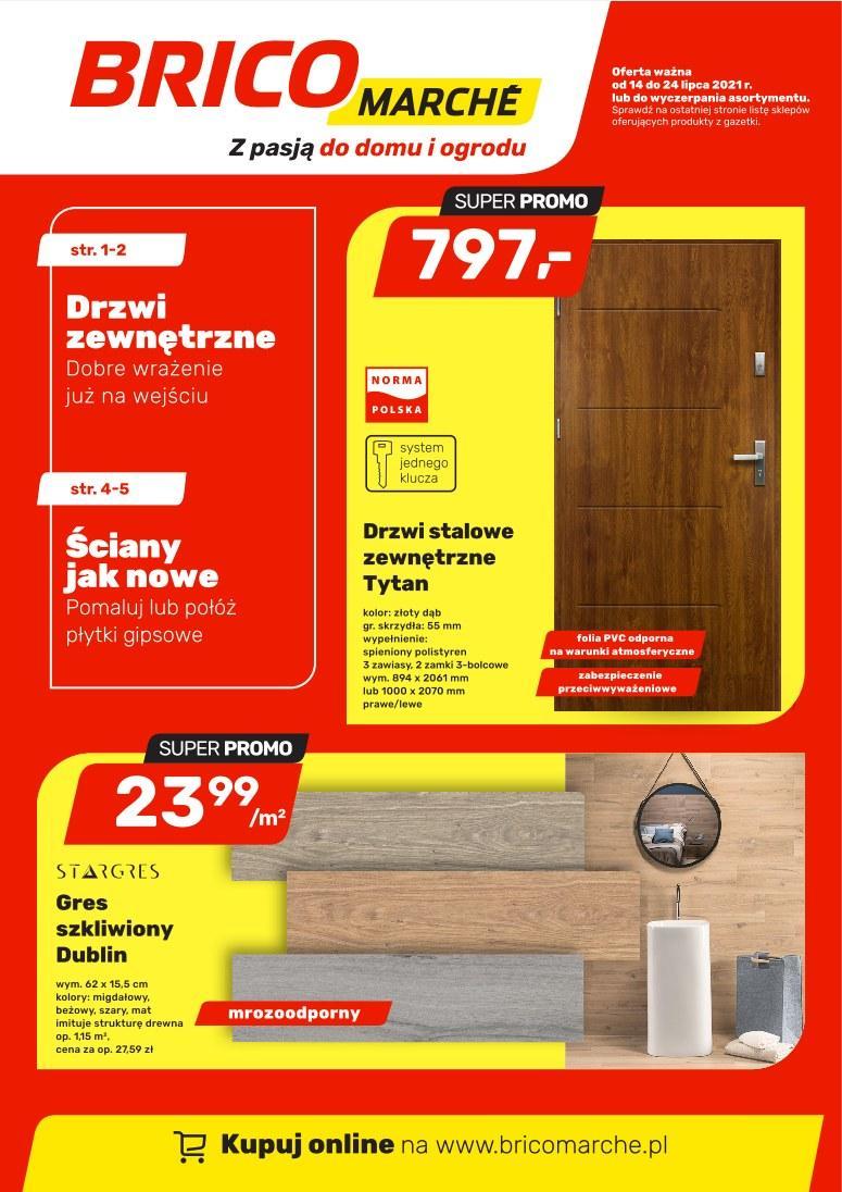 Gazetka promocyjna Bricomarche do 24/07/2021 str.1
