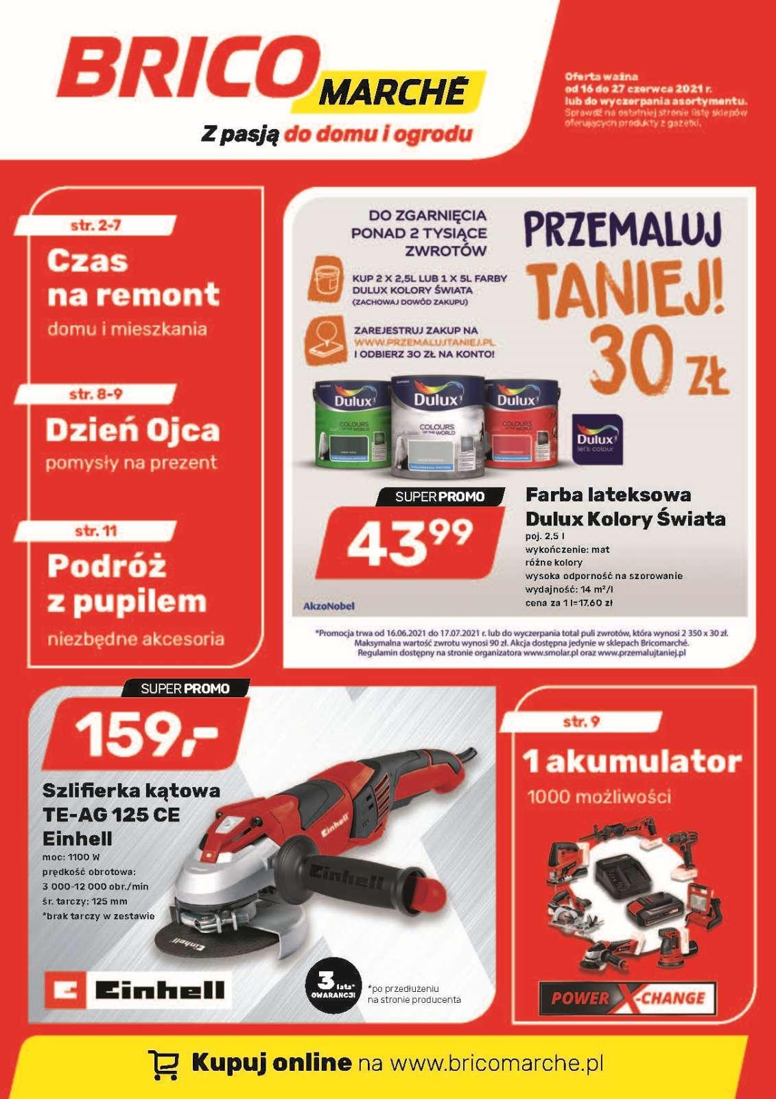 Gazetka promocyjna Bricomarche do 27/06/2021 str.1