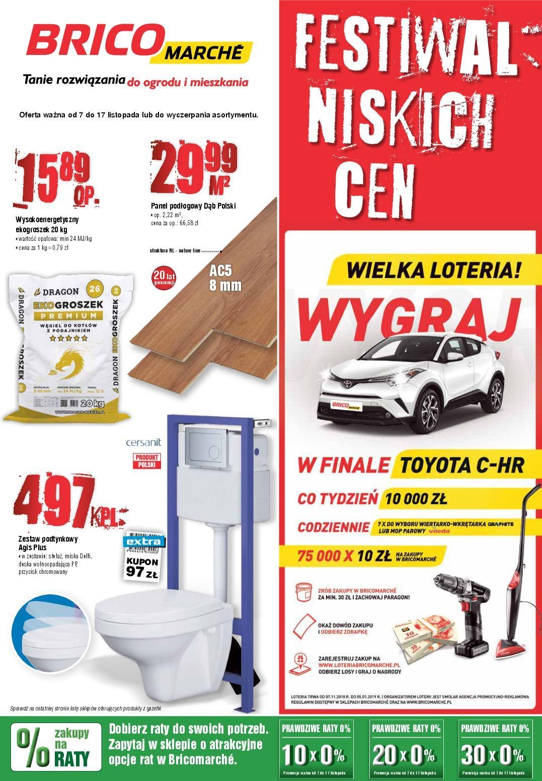 Gazetka promocyjna Bricomarche do 17/11/2018 str.1