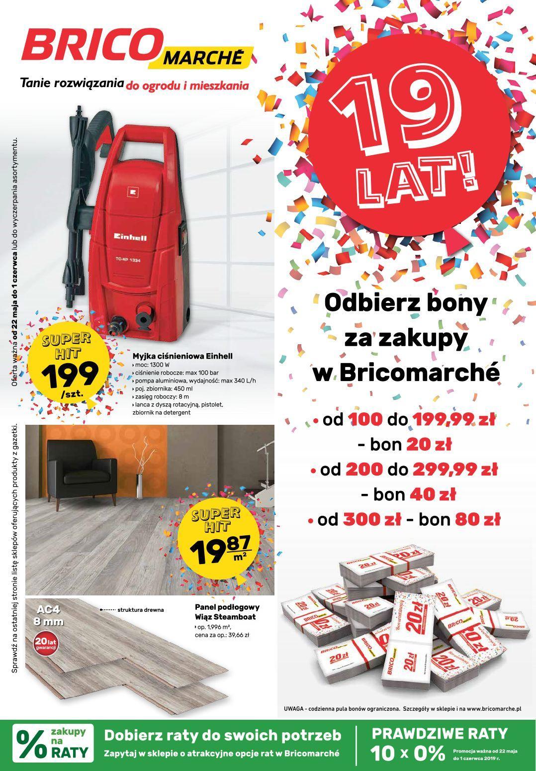 Gazetka promocyjna Bricomarche do 01/06/2019 str.0