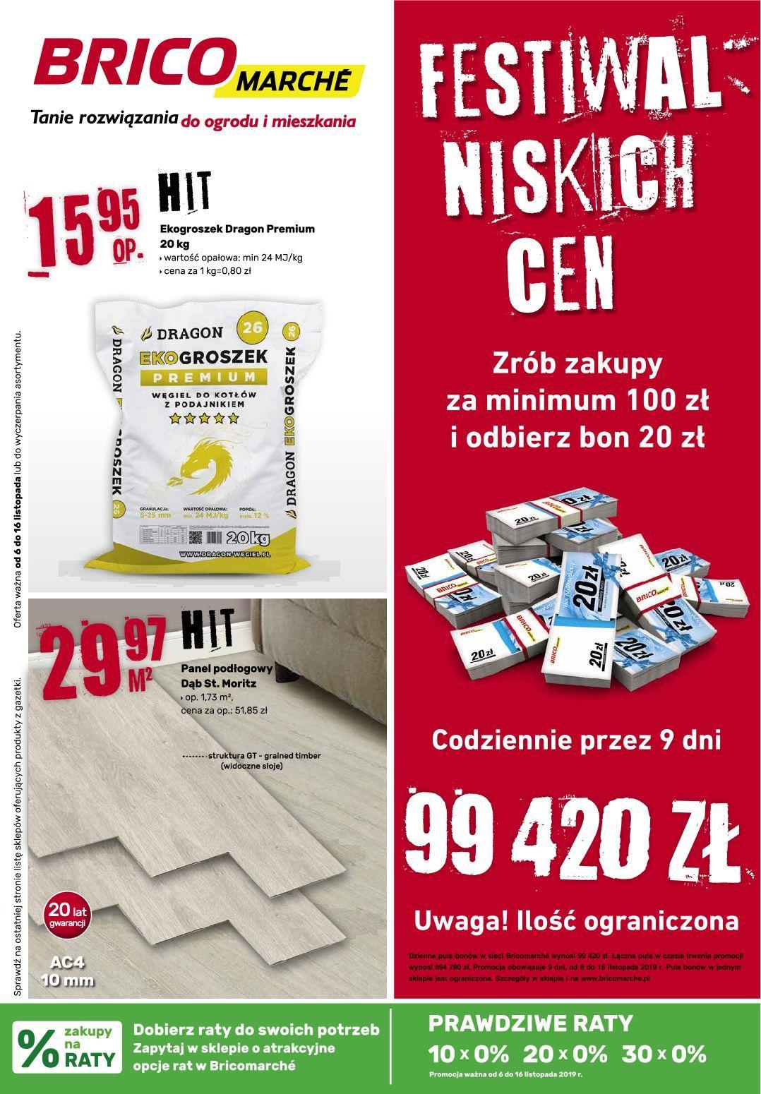 Gazetka promocyjna Bricomarche do 16/11/2019 str.0