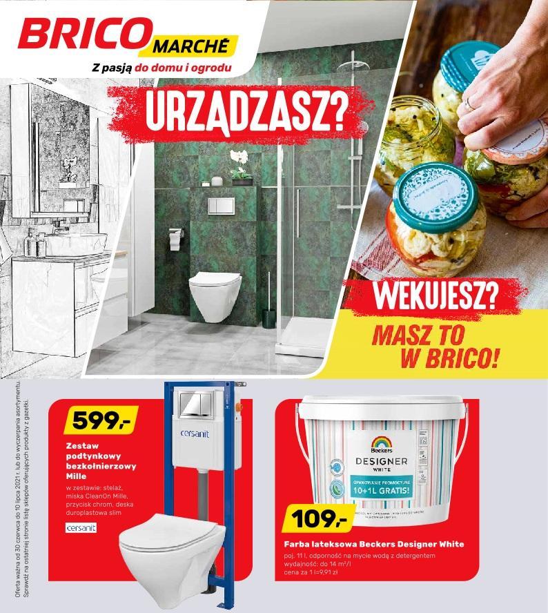 Gazetka promocyjna Bricomarche do 10/07/2021 str.1