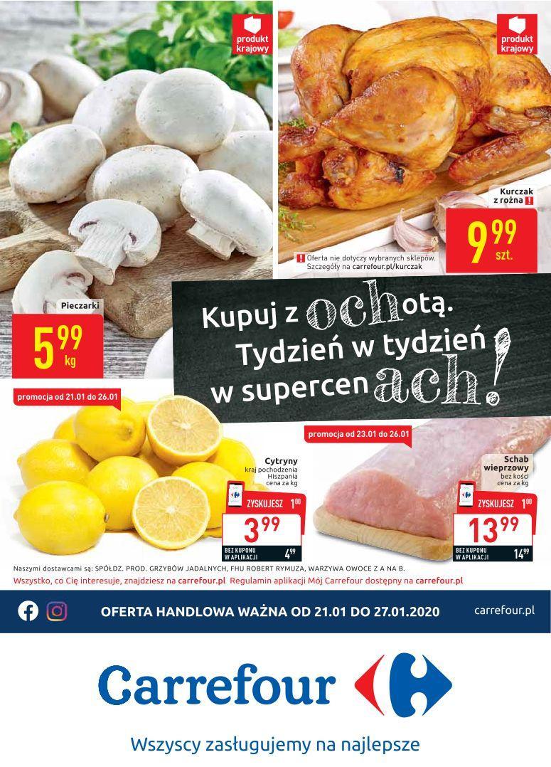 Gazetka promocyjna Carrefour do 27/01/2020 str.0