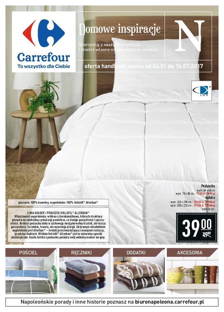 Gazetka promocyjna Carrefour do 16/01/2017 str.0