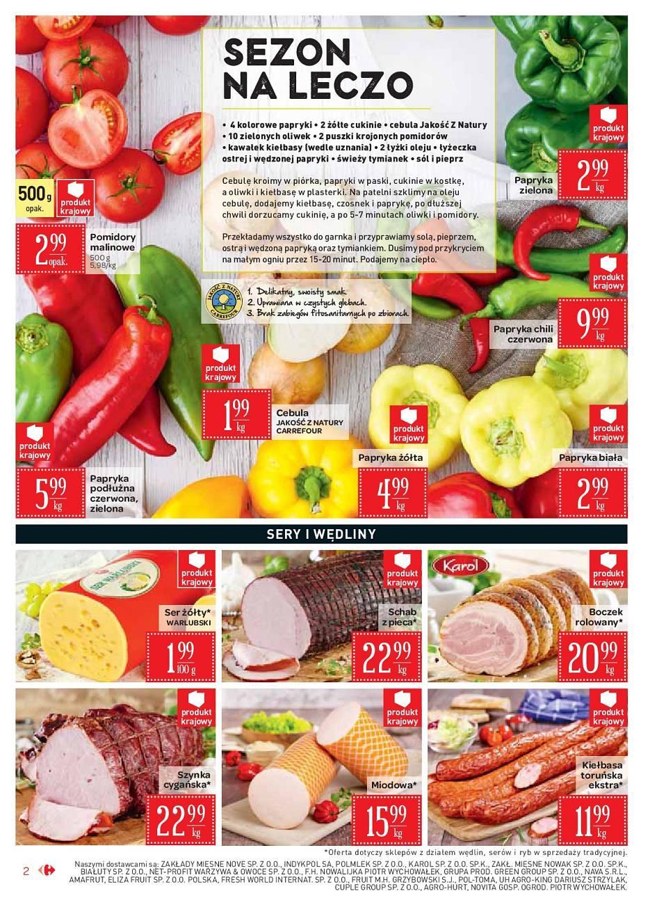Gazetka promocyjna Carrefour Market do 02/09/2018 str.2