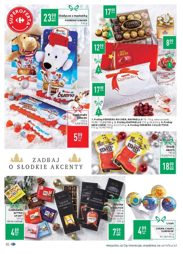Gazetka promocyjna Carrefour do 02/12/2018 str.30