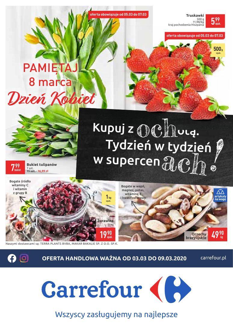 Gazetka promocyjna Carrefour do 09/03/2020 str.0