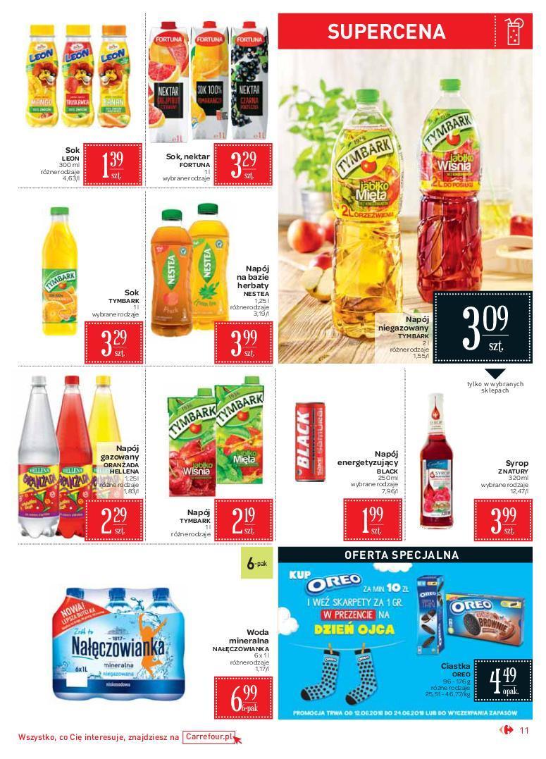 Gazetka promocyjna Carrefour Market do 24/06/2018 str.10