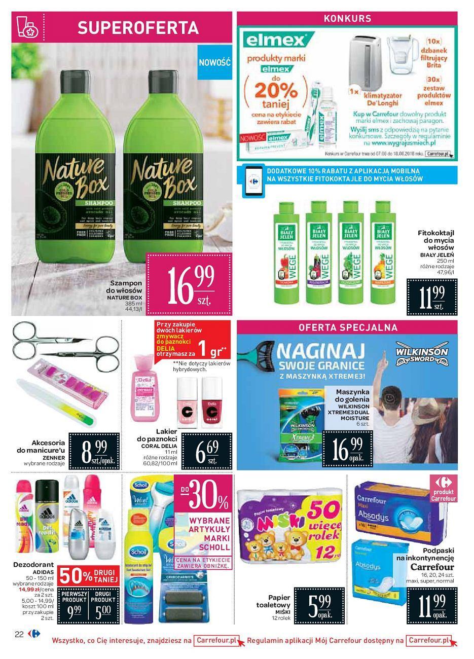 Gazetka promocyjna Carrefour do 18/08/2018 str.21