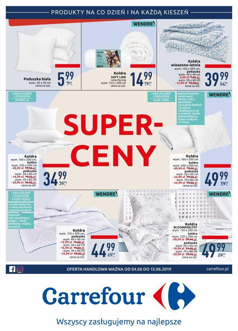 Gazetka promocyjna Carrefour do 15/06/2019 str.1