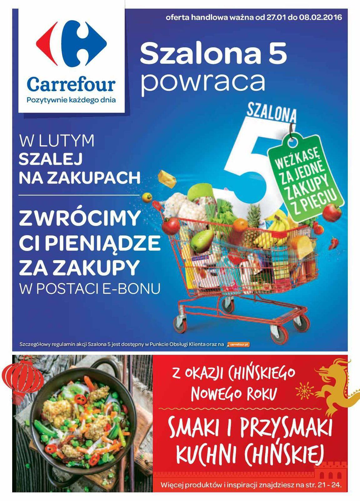 Gazetka promocyjna Carrefour do 08/02/2016 str.0