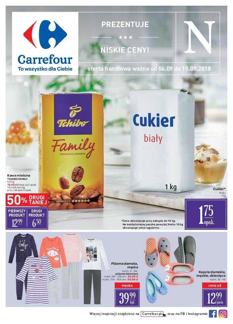 Gazetka promocyjna Carrefour do 15/09/2018 str.0