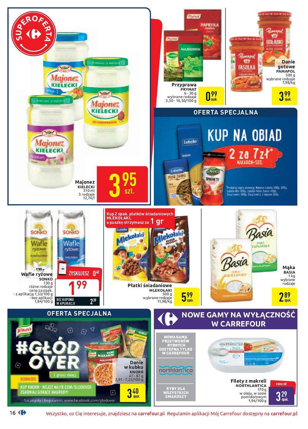 Gazetka promocyjna Carrefour do 30/09/2018 str.16